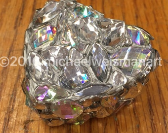Diamonds Are Forever Mini Heart Bling Box
