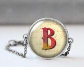 Custom Initial Bracelet, Picture Bracelet, Monogram Bracelet, Bridesmaid Gift, Photo Jewelry, Personalized Bracelet, Birthday gift