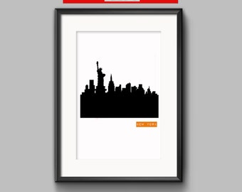 New York print,  New York wall art, New York prints