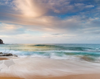 Glowing - fine art seascape photographic print