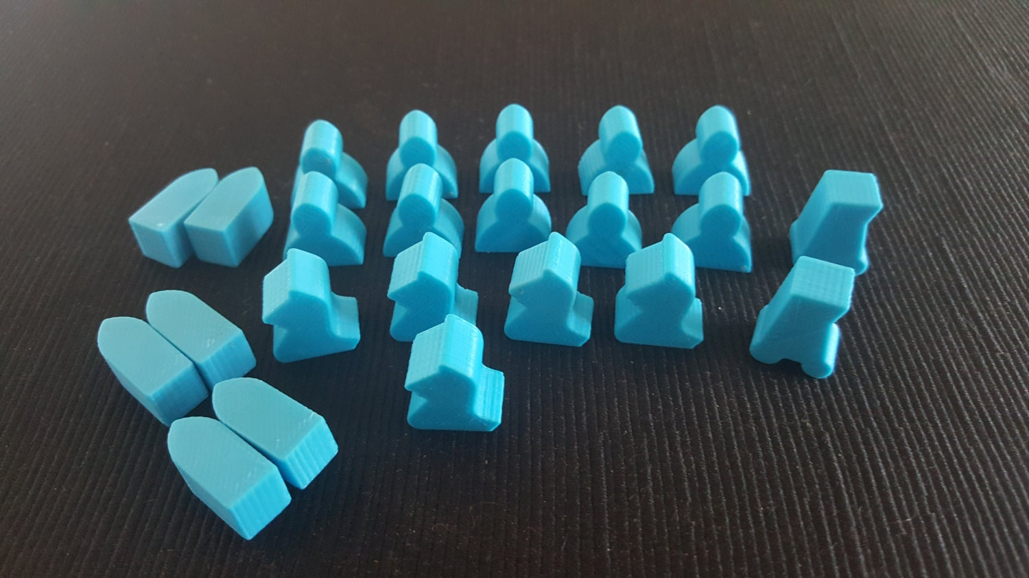 Game of Thrones board game pieces second by