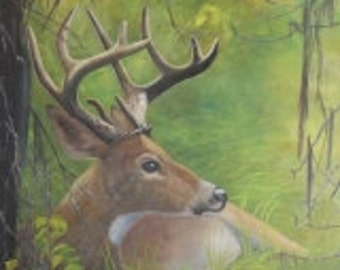 Deer Painting, Gifts for Outdoorsmen, Gifts for Hunters, Deer Painting, Gifts for Men