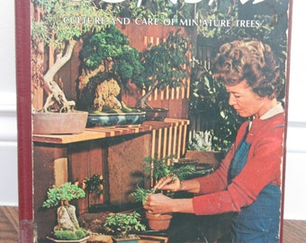 Vintage 1968 Bonsai Book