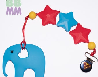 Home toy / teether / Silicon / elephant