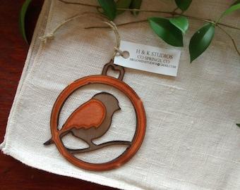 Little Fat Bird Ornament