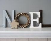 Noel wood letters, Christmas decor, Rustic Wood , Noel Sign, Mantel Decoration