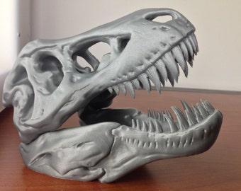 3D Printed T-Rex Skull
