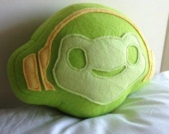 Lucio Frog Pillow