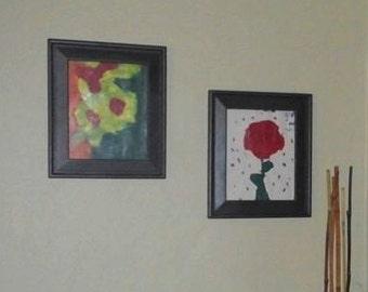 Set of 2 art prints