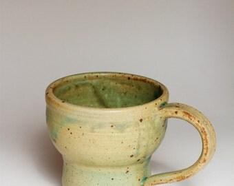 8 fl oz ceramic coffee mug