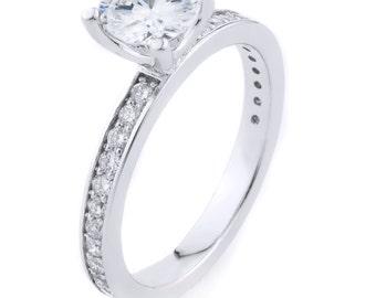 Beautiful 14k Gold Diamond Engagement Ring