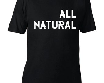 Male and Female All Natural Organic T Shirt