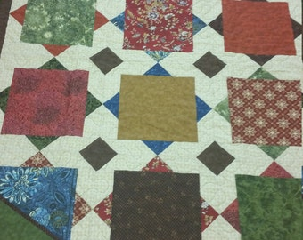 Fall Colored Quilt