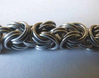 Double Byzantine Chainmail Bracelet