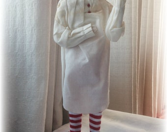 """Christmas in July, Scrooge 1985 Ltd Second Edition by Byers' Choice """"A Christmas Carol"""" Home Decor Christmas RARE Collectible Figurine"""