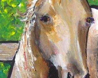 "ACEO original painting, acrylic 2.5""x3.5"""