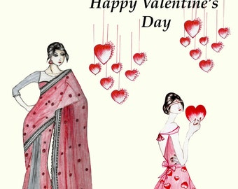 Valentines Day ( Print )