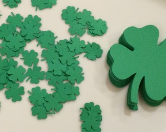 25 Four Leaf Clover die cuts for St. Patrick's Day