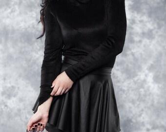 comfy turtleneck sweater - onesize