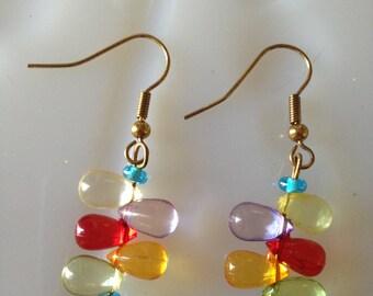 Funky Colorful Earrings