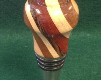 Wood Wine Bottle Stopper