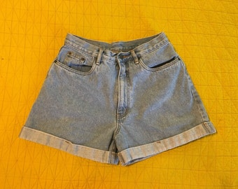 Perfect 90's High Waisted Faded Jean Shorts