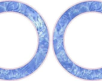 Fishing Water Rings Cornhole Board Hole Ring Stickers Baggo Vinyl Decal