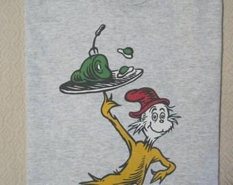 "T-Shirt, ""Green Eggs & Ham"", Dr. Seuss, 1994, Vintage"