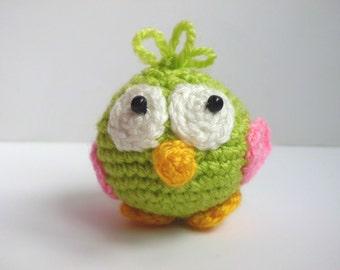 Crochet Bird, Stuffed Bird, Amigurumi Bird, Bird Toy, Bird Stuffed Toy, Bird crochet doll nursery decor