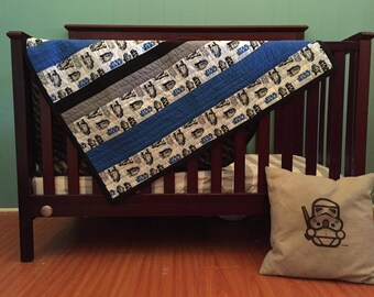 Star Wars Baby Beddingr2 D2custom Crib Beddingwith