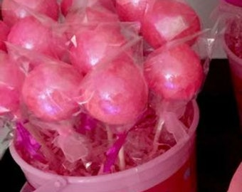 Glitter Cake Pops *ANY COLOR*