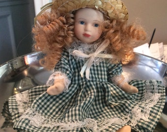 Collectible Anne of Green Gables Porcelain Doll