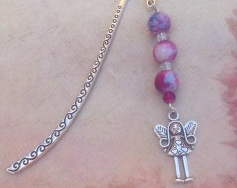 Fairy Bookmark. Girls Bookmark. Purple Bookmark. Gift for Girl. Children's Bookmark. Gift for Child. Book Lover Gift.