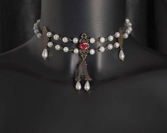 """Ras necklace neck """"Anne Boleyn"""""""