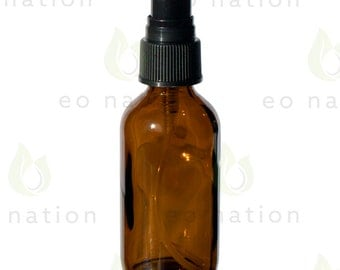 2 oz Amber Glass Mister Bottle