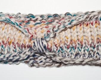 Multi-Color Knit Ear Warmers