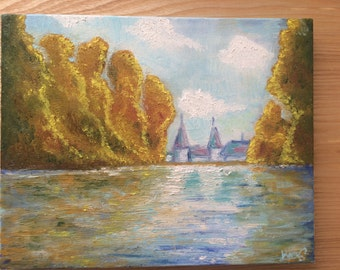 Inspired by Claude Monet
