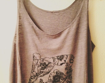 Oregon Poppy and Fireweed tank