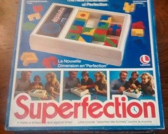 Superfection vintage board game