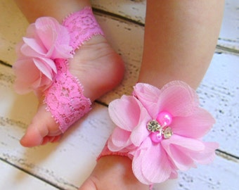 Lace Baby Shoe, Summer Baby Shoes, baby barefoot sandals, baby sandals, newborn sandals, baby girl sandals, baby shoes for girl