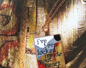 Heart Shaped Box Nirvana Pendant Necklace