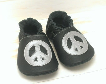 Soft sole leather shoes, leather baby shoes, baby pre-walkers, soft soled baby shoes, baby slippers, toddlers moccasins