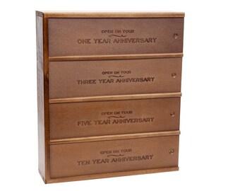 Anniversary 4-Bottle Wine Box