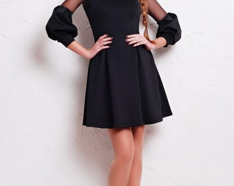 Black Dress, Little Black Dress, Little Black Dress, Prom Dress, Party Dress, Skater Skirt Dress