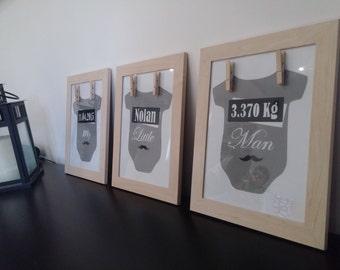 frames baby decoration