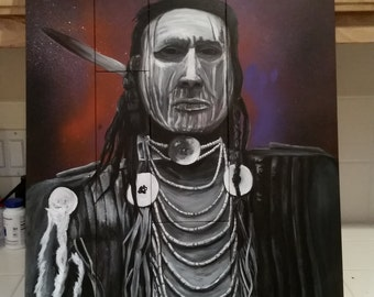 Native american acrylic handmade with no duplicates