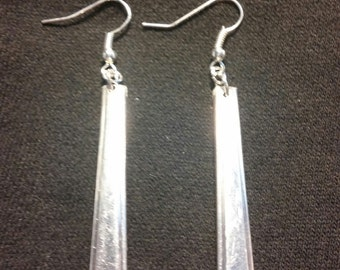 Silver plate earrings