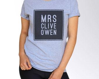 Clive Owen T Shirt - S M L
