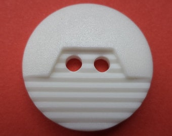 20 mm (1383) knob white 10 buttons