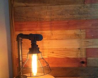 Black iron Edison Lamp